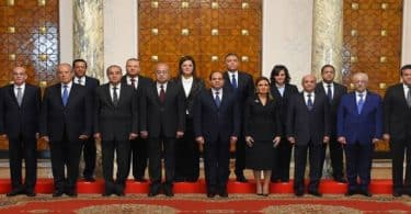 أسماء وزراء مصر
