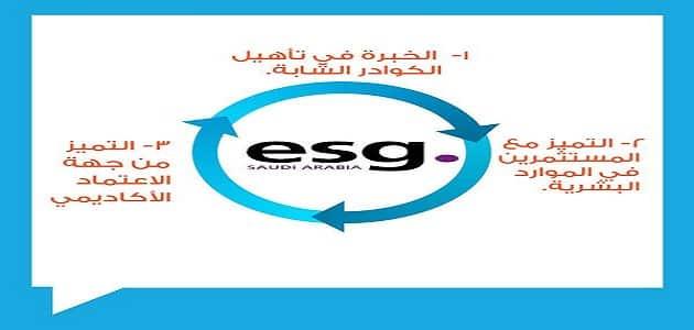 التسجيل في كلية التميز بالخبر esg