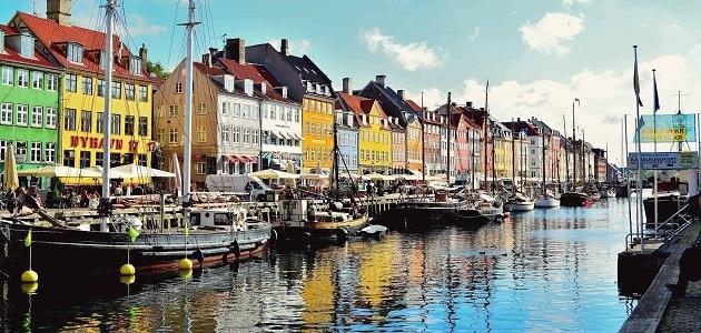 ما هي عاصمة الدنمارك وعملتها ؟