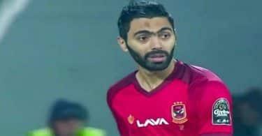 معلومات عن اللاعب حسين الشحات