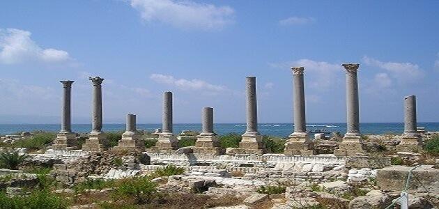 معلومات عن أهم مدن لبنان التاريخية