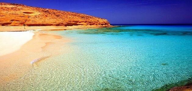 معلومات عن شاطئ الأبيض مرسى مطروح معلومة ثقافية