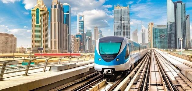 معلومات عن مترو دبي ومميزاته