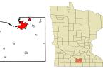 أين تقع مينيسوتا على الخريطة ؟