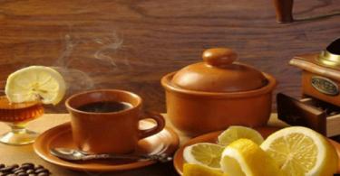 فوائد شرب القهوة العربي بالليمون