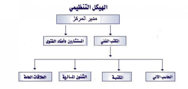 بحث حول الهيكل التنظيمي للمؤسسة كامل pdf
