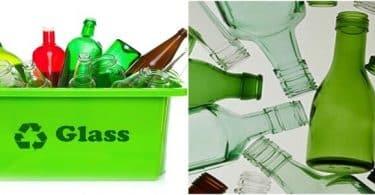 بحث عن اعادة تدوير الزجاج