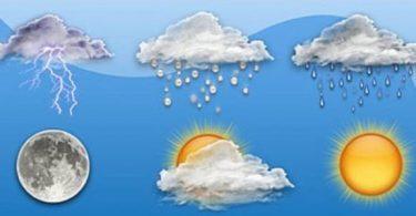 بحث عن عناصر المناخ والطقس