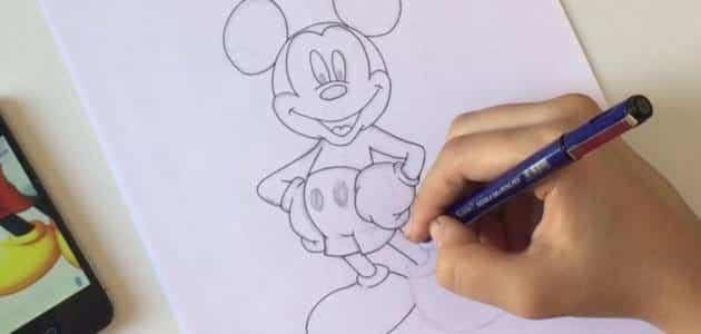تعليم الرسم بالرصاص للأطفال للمبتدأين معلومة ثقافية