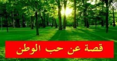 قصة قصيرة عن حب الوطن السعودية