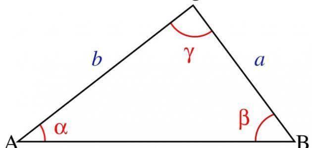 مساحة المثلث متساوي الأضلاع والقائم