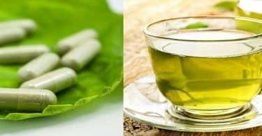 معلومات عن أقراص الشاى الأخضر