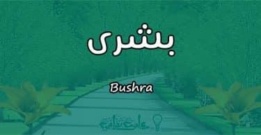 معنى اسم بشرى Bushra وشخصيتها وصفاتها