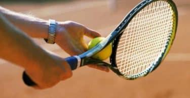 موضوع عن كرة المضرب