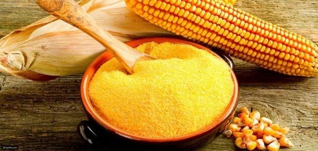 الفرق بين دقيق الذرة الابيض والاصفر وأنواعه