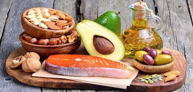 أنواع الدهون المشبعة وفوائدها