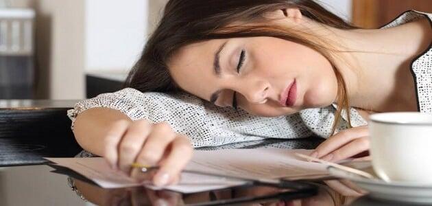 علاج الخمول والتعب والرغبة الشديدة في النوم