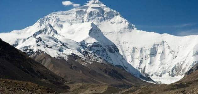 معلومات عن جبل ايفرست