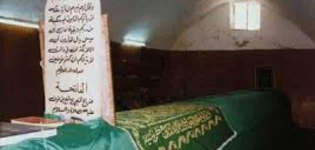 موضوع عن قبر سيدنا موسى