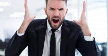 أثار الغضب على جسم الإنسان