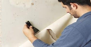 اسهل طريقة لازالة ورق الحائط