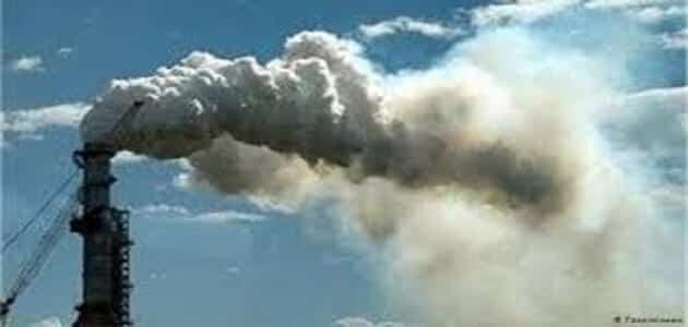بحث عن تلوث الهواء بالعناصر