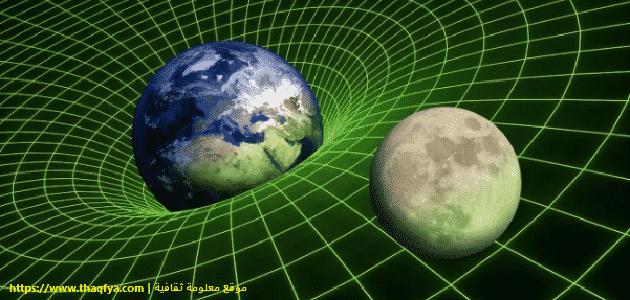 تعريف قوة جذب الأرض للأجسام