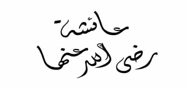 معلومات نادرة عن السيدة عائشة