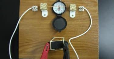 موضوع عن التاثير المغناطيسي للتيار الكهربي