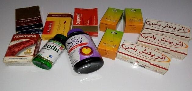 أفضل فيتامين للشعر في مصر