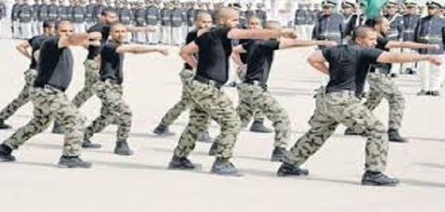 الاستعلام عن نتائج القبول بالوظائف العسكرية والشروط المطلوبة