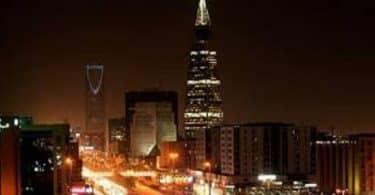 الموقع الجغرافي لمدينة الرياض السعودية