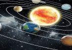 النظام الشمسي في الكون