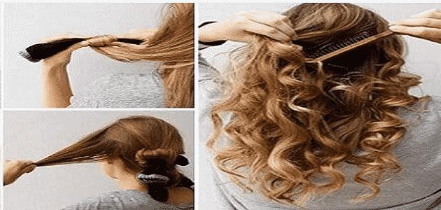 الحصول على شعر كيرلي بالجوارب بدون حرارة Curly Hair Wihout Heat Youtube