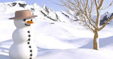 طريقة عمل رجل الثلج بالبالونات