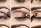 طريقة مكياج العيون الصغيرة للمبتدئين