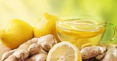 فوائد الزنجبيل والليمون للكرش