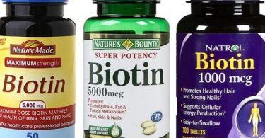 فوائد حبوب البيوتين 10000 لتقوية الشعر