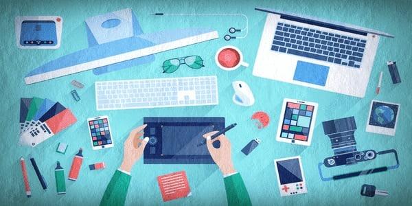 مجالات التصميم الجرافيكي والوسائط الرقمية