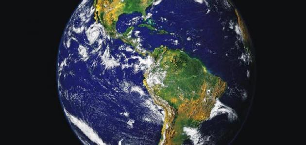معلومات عن كوكب الأرض ومما يتكون
