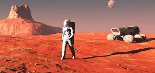 معلومات عن كوكب المريخ للاطفال