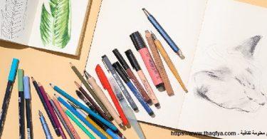 أنواع الرسم وأدواته