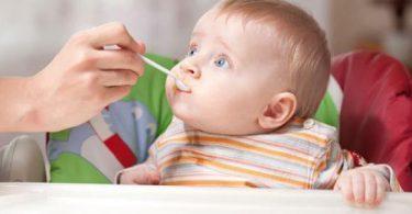 الفطام التدريجي للأطفال