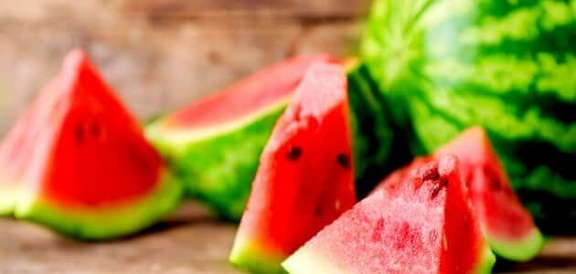 انواع البطيخ في العالم