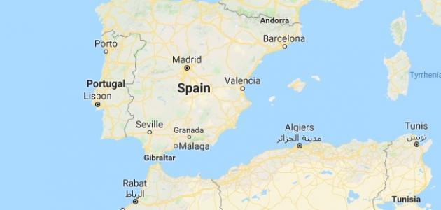أين تقع إسبانيا على الخريطه؟ | معلومة ثقافية