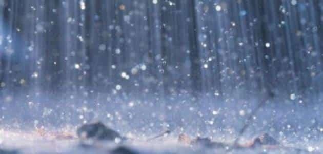 تفسير حلم نزول المطر بغزارة معلومة ثقافية