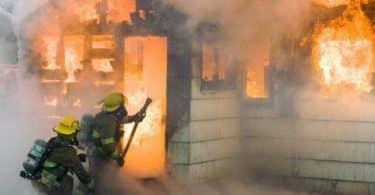 حريق البيت في المنام لابن سيرين