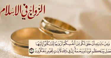 عقد الزواج وما يتعلق به من أحكام