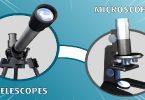 الميكروسكوب الضوئي المركب والتلسكوب