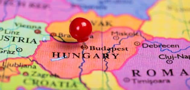 اين تقع المجر في أوروبا